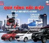 Quà tặng đặc biệt của Toyota Financial services và Toyota Insurance
